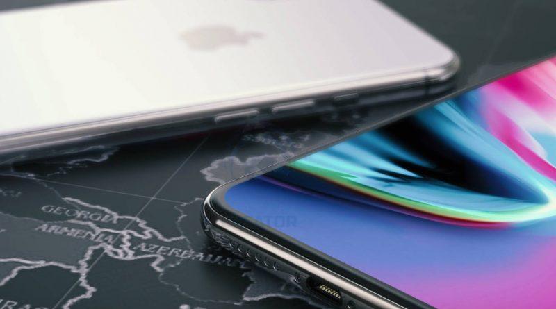 iPhone X Plus wizualizacja koncept