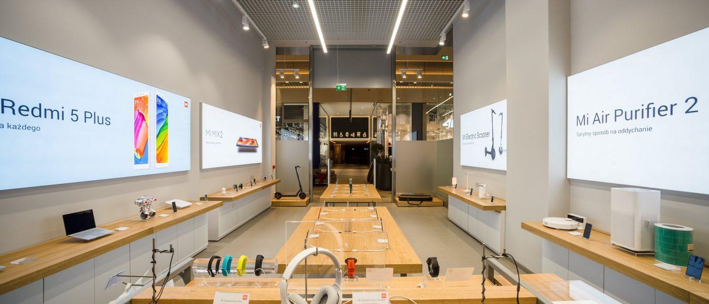 Salon Xiaomi Kraków Serenada sklep Xiaomi Mi Store Arkadia Warszawa