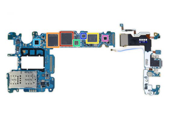 Samsung Galaxy S9 Plus naprawa iFixit