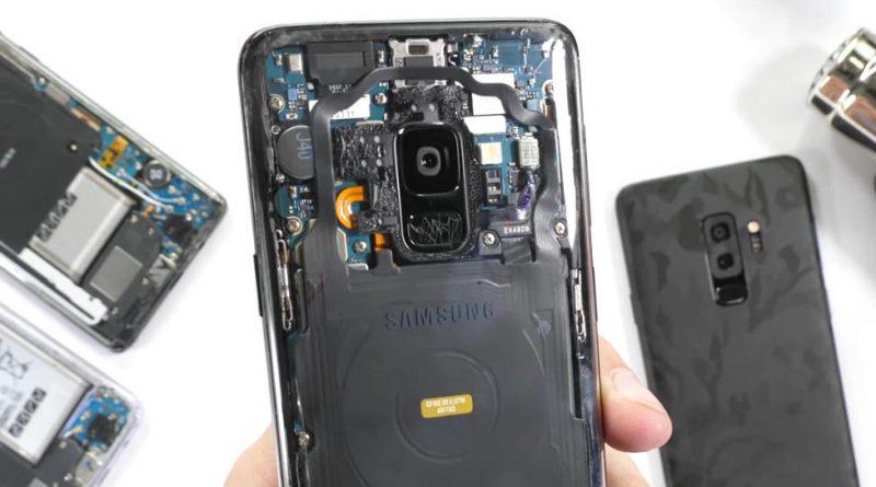 Samsung Galaxy S9 przezroczysta obudowa