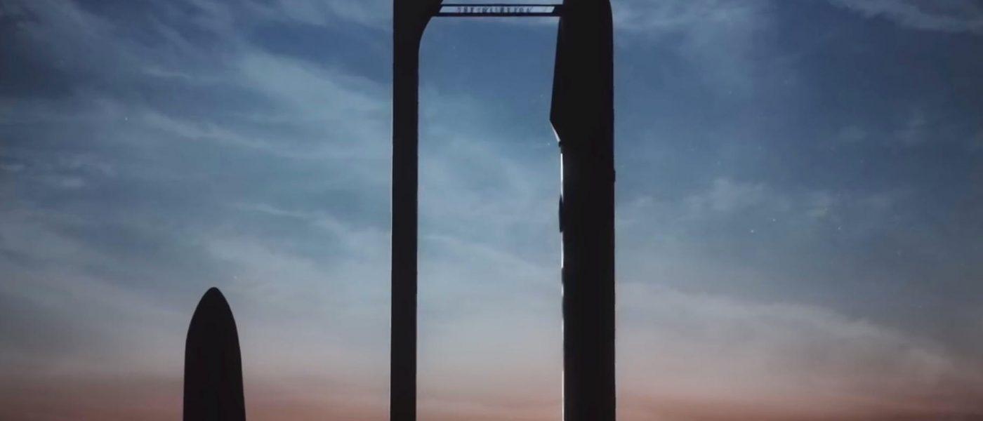 SpaceX BFR rakieta Elon Musk