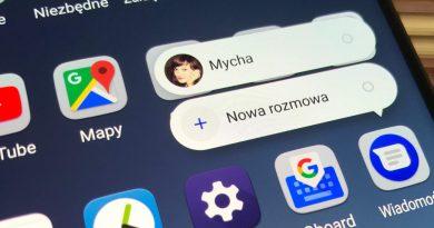 Wiadomości na Androida ze zmienioną nazwą