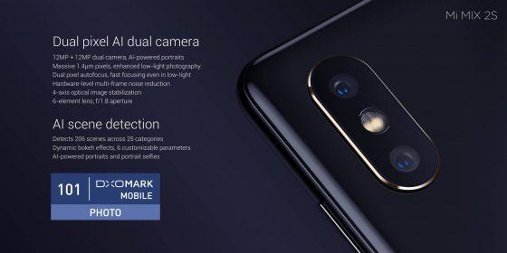 Xiaomi Mi Mix 2S specyfikacja