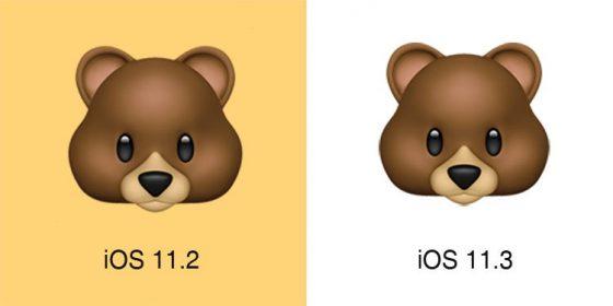 Apple iOS 11.3 emoji