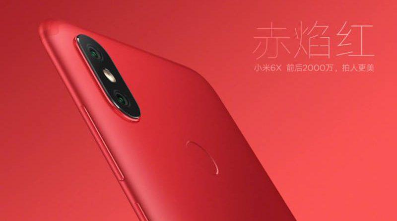 Xiaomi Mi 6X cena specyfikacja opinie
