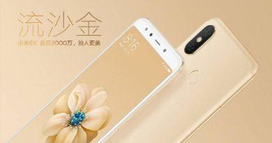 Xiaomi Mi 6X dostanie dobry przedni aparat. Firma chwali się zdjęciami