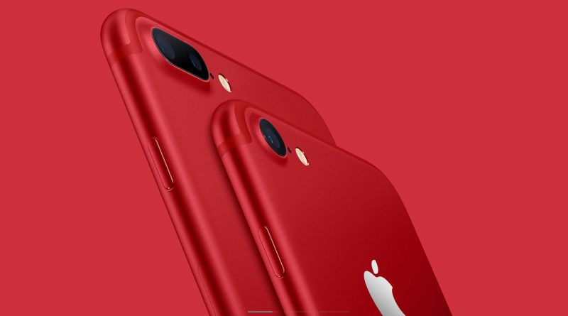 Apple iPhone 8 Plus Product Red