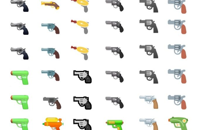 emoji broni google