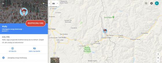 mapy google gdzie jest wally