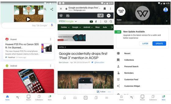 Google 8.0 beta Material Design 2