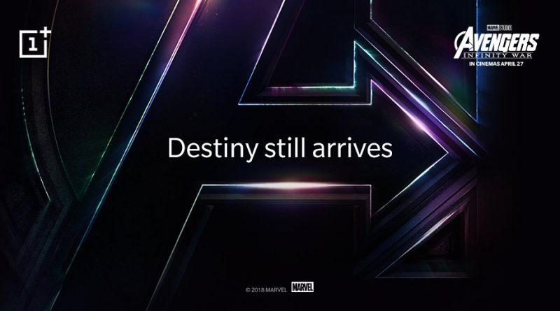 OnePlus 6 Marvel Avengers: Infinity War