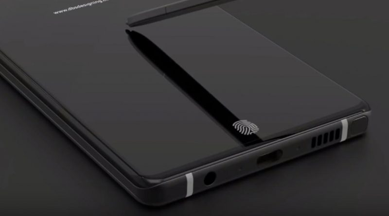 Samsung Galaxy Note 9 koncept