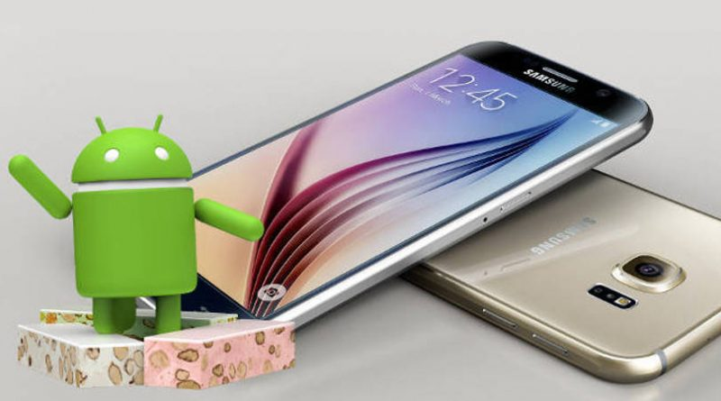 Samsung Galaxy S6 Android Nougat aktualizacja firmware Galaxy Note 5