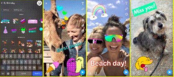 Snapchat grupowe wideorozmowy