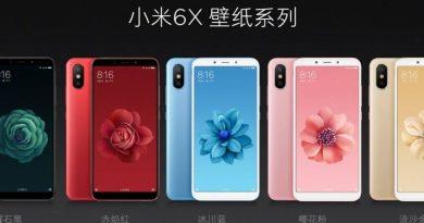 Xiaomi Mi 6X za kilka dni, a tymczasem można pobrać oficjalne tapety