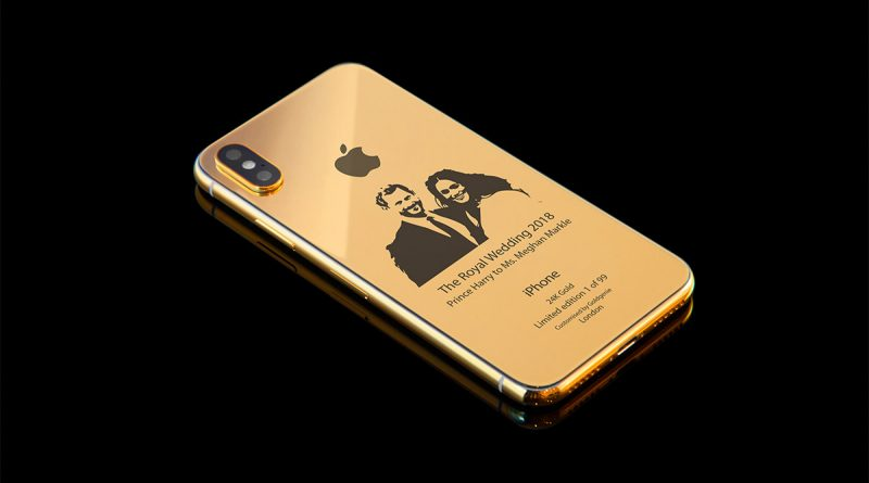 iPhone X Royal Wedding Edition