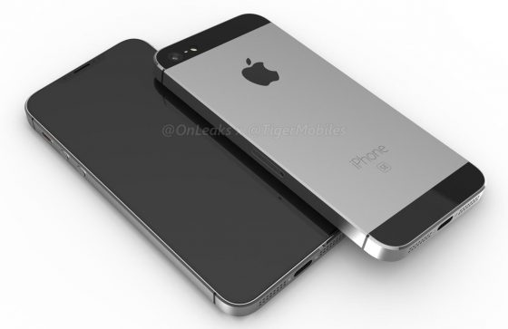 Apple iPhone SE 2 rendery Onleaks