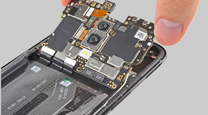OnePlus 6 iFixit naprawa