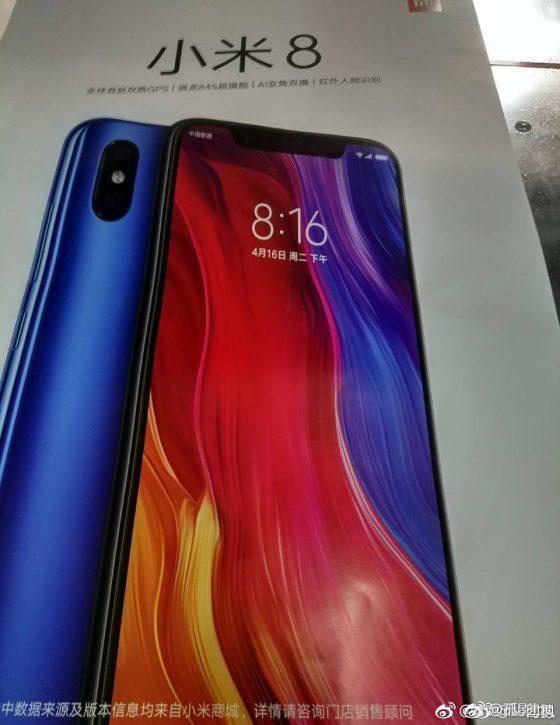 Xiaomi Mi 8 zdjęcie jak iPhone X