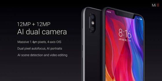 Xiaomi Mi 8 aparat