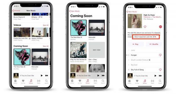Apple Music zmiany aktualizacja Wkrótce