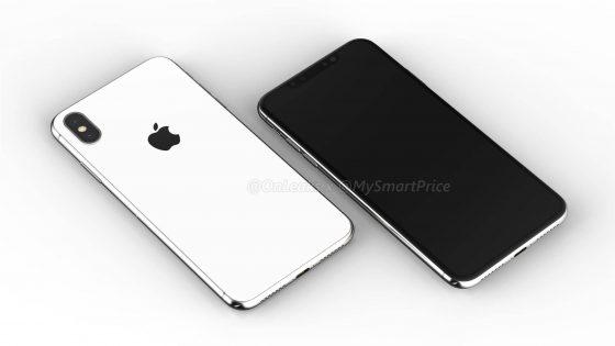 Apple iPhone X Plus 6.5 cala rendery Samsung Galaxy S10 Plus