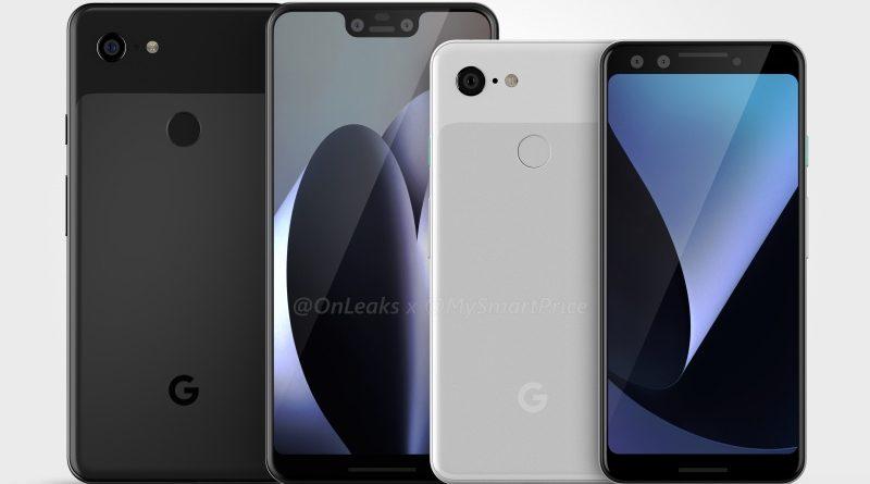 Google Pixel 3 XL rendery Onleaks specyfikacja techniczna kiedy premiera