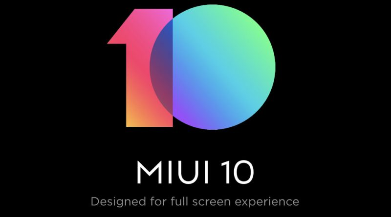 MIUI 10 Global Stable Beta ROM jakie smartfony Xiaomi MI 8 Pro