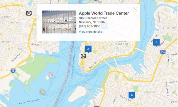 Mapy Apple MapKit JS