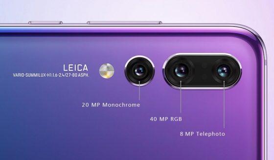 Huawei P20 Pro potrójny aparat Samsung Galaxy S10
