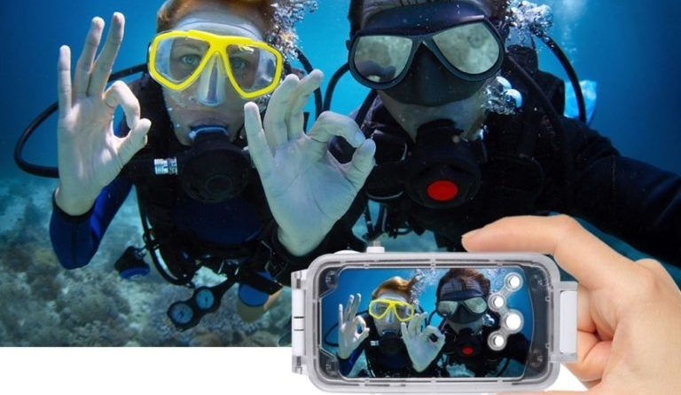 iPhone X Waterproof Diving Case