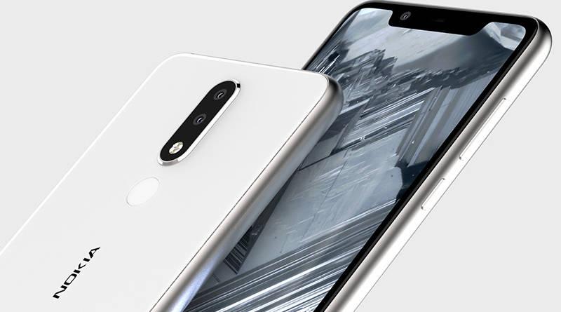 Nokia 5.1 Plus rendery Onleaks notch kiedy premiera specyfikacja techniczna