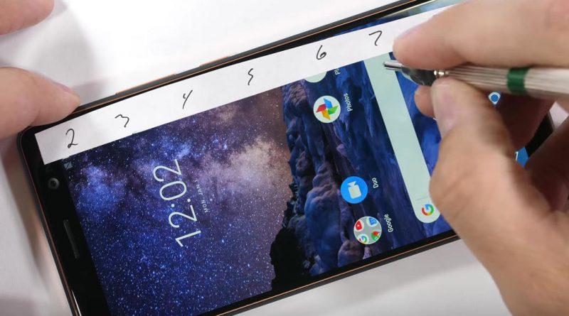 Nokia 7 Plus wytrzymałość