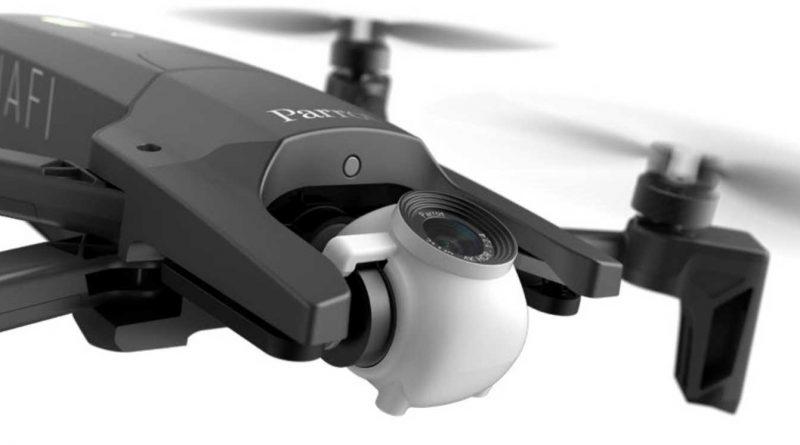 Parrot Anafi cena premiera specyfikacja opinie składany dron jak DJI Mavic Air