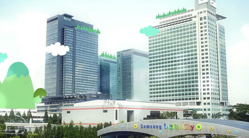 Samsung Digital City Apple energia odnawialna ochrona środowiska
