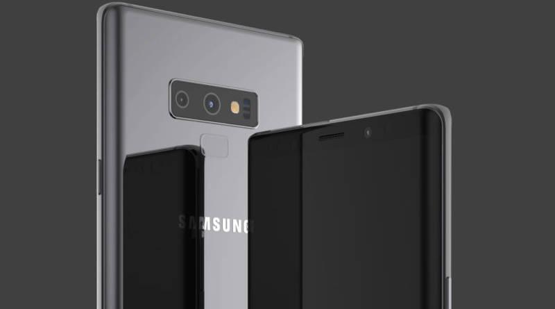 Samsung Galaxy Note 9 nowy przycisk Onleaks kiedy premiera plotki przecieki specyfikacja techniczna