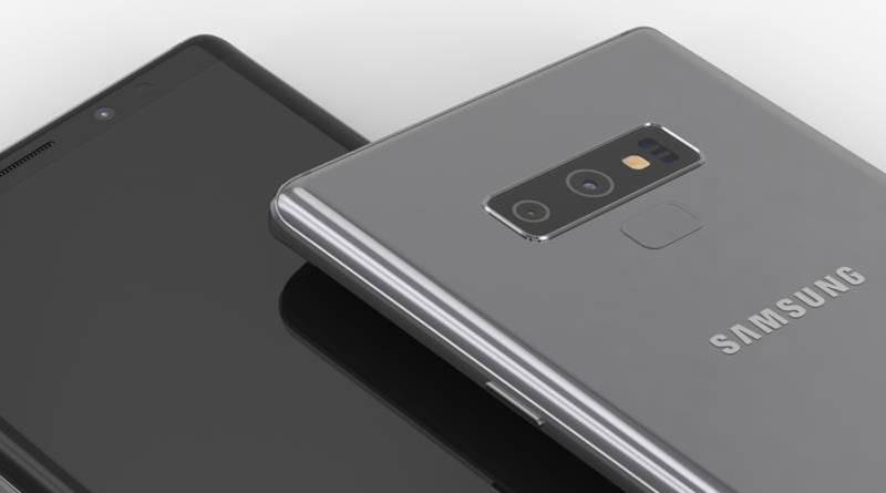 Samsung Galaxy Note 9 rendery Onleaks kiedy premiera specyfikacja techniczna S Pen