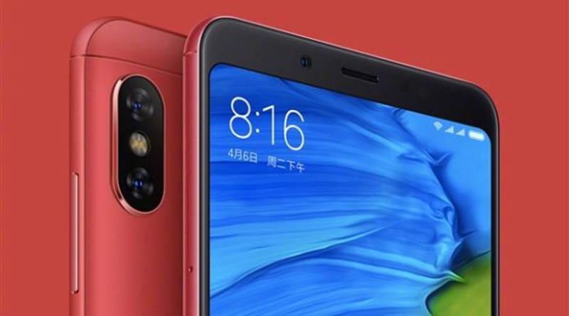 Xiaomi Redmi Note 5 czerwony cena specyfikacja techniczna