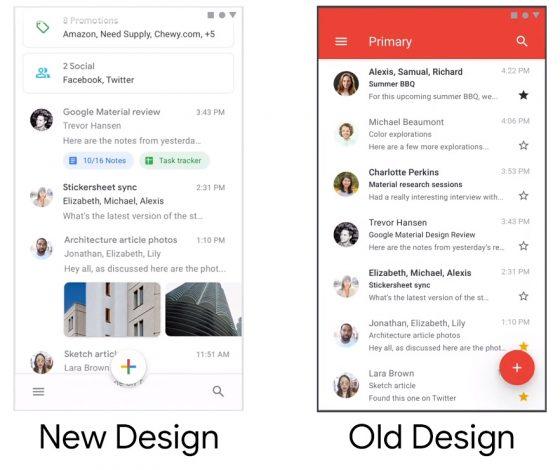 Gmail google nowa wersja