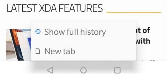 Google Chrome Canary nowy przycisk