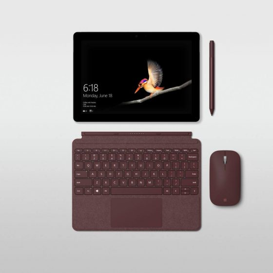 Microsoft Surface Go cena specyfikacja techniczna opinie dostępność Apple iPad