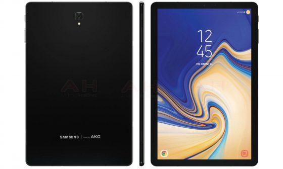 Samsung Galaxy Tab S4 render kiedy premiera specyfikacja techniczna