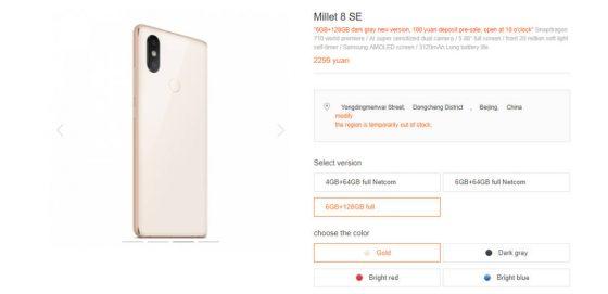 Nowy Xiaomi Mi 8 SE cena specyfikacja techniczna gdzie kupić kiedy w Polsce