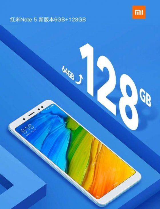 Xiaomi Redmi Note 5 128 GB cena opinie specyfikacja techniczna dane techniczne