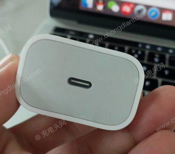 Apple iPhone 2018 nowa ładowarka 18W USB C zdjęcia