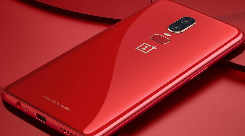 Czerwony OnePlus 6 cena specyfikacja techniczna kiedy premiera Amber Red