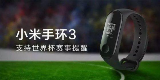 Xiaomi Mi band 3 powiadomienia Mundial