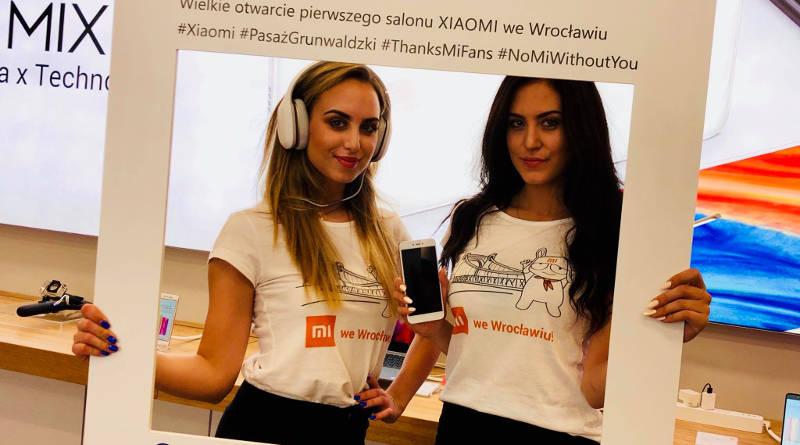 Xiaomi Mi Store Wrocław otwarcie sklep salon promocje darmowa koszulka Pasaż Grunwaldzki