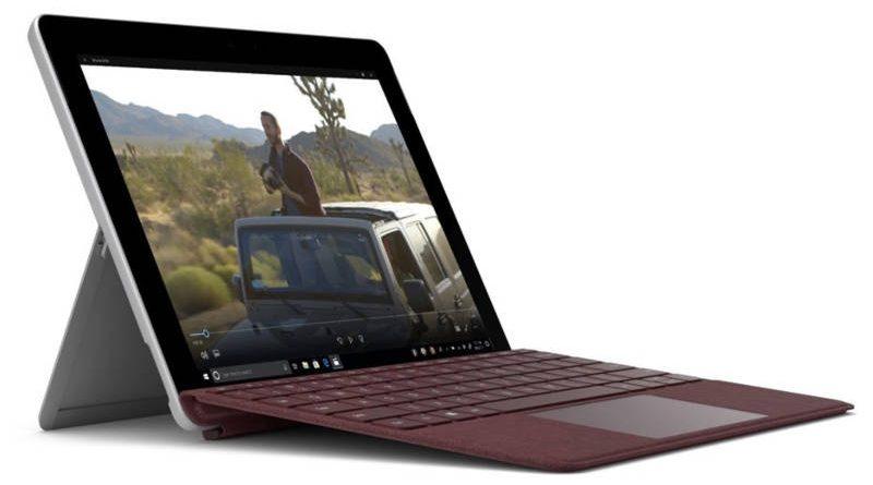 Microsoft Surface Go przedsprzedaż specyfikacja techniczna cena