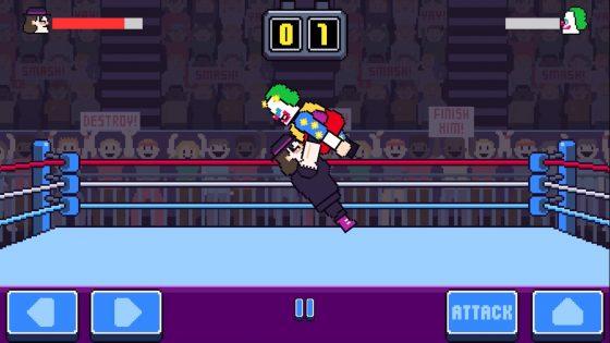 rowdy wrestling najlepsze gry mobilne lipiec 2018 ios android